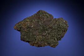 Pyromorphite, Masua, Sardinia, Italy. A fine old German specimen. Specimen 9 cm wide. Photo by M Schorr. (UM8125)